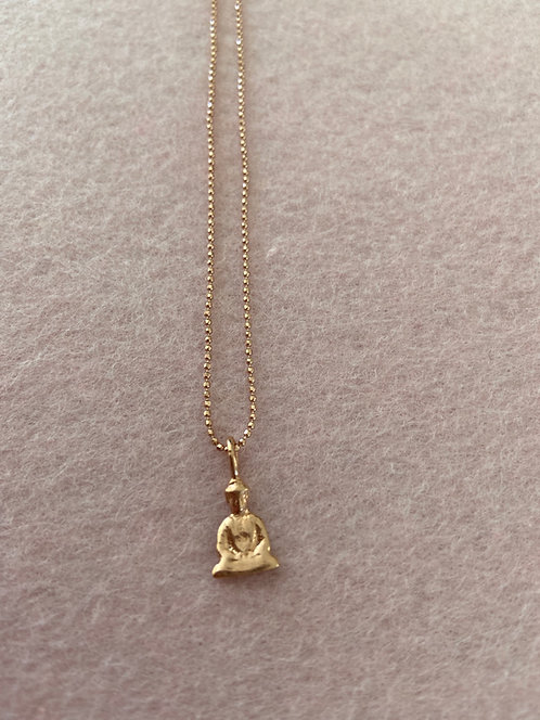 "Kette ""Buddha"" aus 925er Sterling-Silber rosévergoldet"
