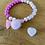 """Thumbnail: Armband """"rosa/pink"""""""