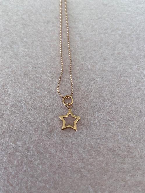 """Kette """"Stern"""" aus 925er Sterling-Silber rosévergoldet"""