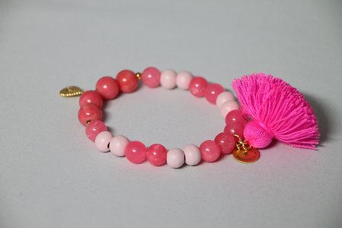 """Armband """"Mala Single Pink"""" von Schmückstück"""