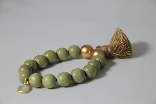 """Armband """"grün"""" von Schmückstück"""