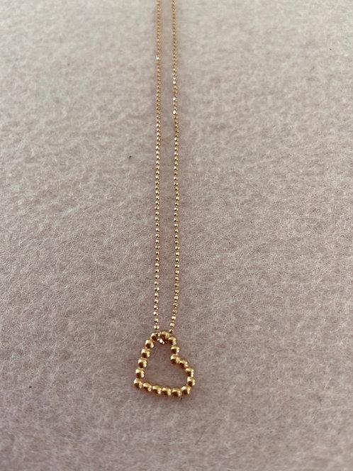 """Kette """"Modul Herz"""" aus 925er Sterling-Silber rosévergoldet"""