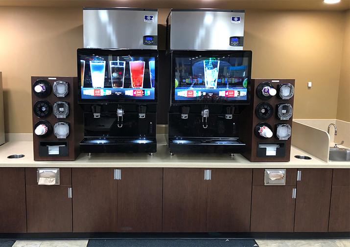 TMart beverage counter