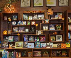 Quail Ridge Books_wall boxes