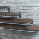 Pipe Hangers w Shelves on 3D Slatwall