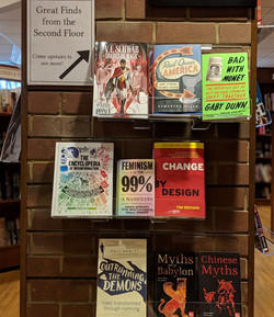 Quail Ridge Books_3d slatwall