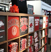 U of Arkansas - t-shirt cubbies w_ faceo