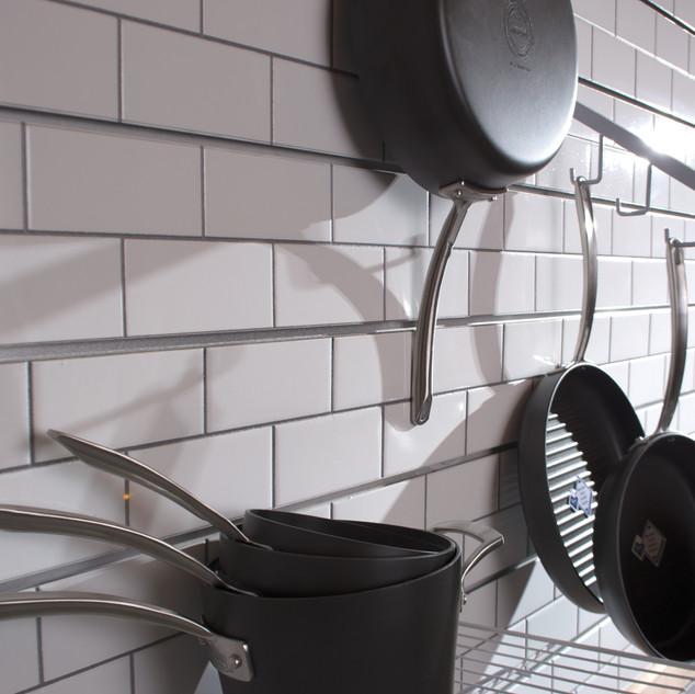Subway Tile 3D Slatwall