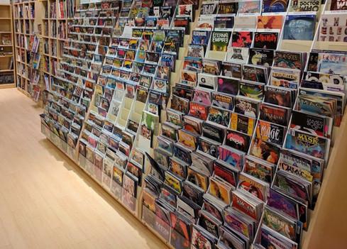 Newbury Comics - 1 tier cases