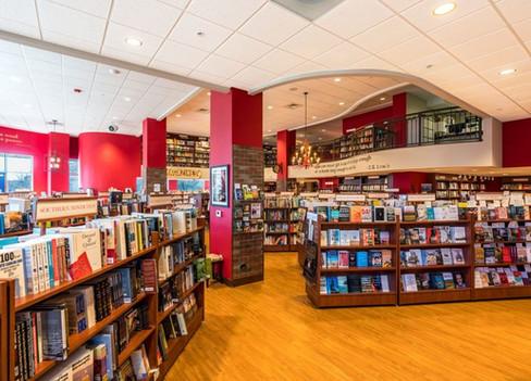 Quail Ridge Books double sided cases