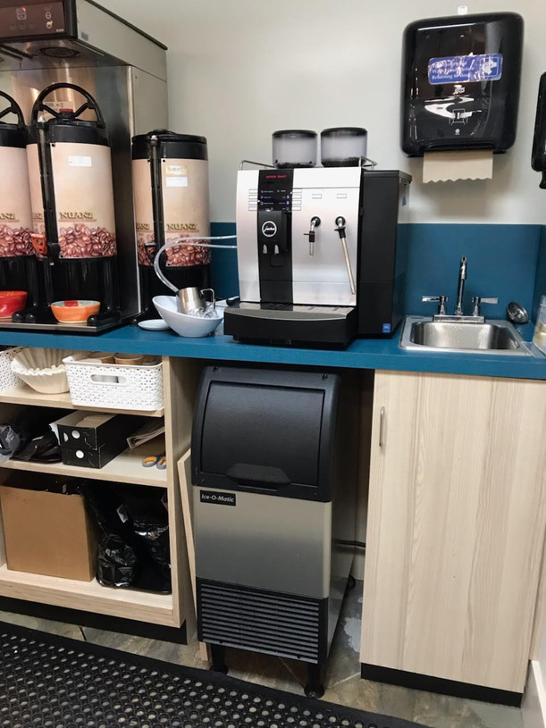 Story & Song beverage area