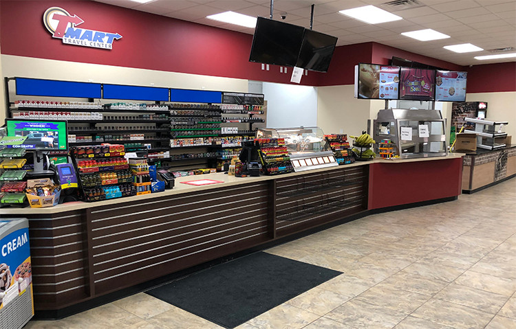 TMart point of sale counter system