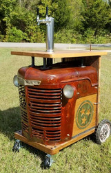 Tractor Keg