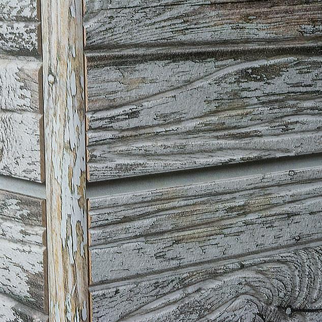 Old Paint 3D slatwall w/ corner trim