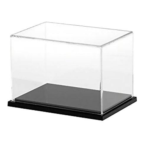 "Acrylic Countertop Display Case - 12.6""W x 9.8""H x 9.8""D"