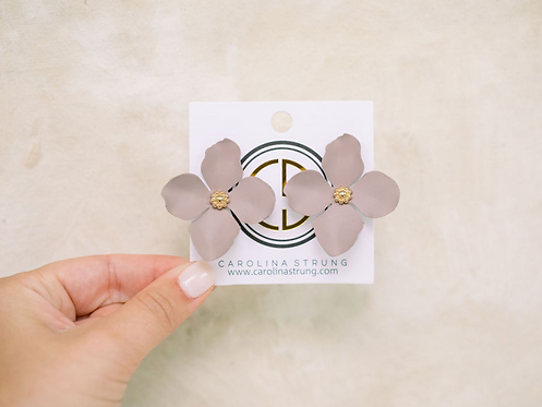 The Lillian Flower Studs
