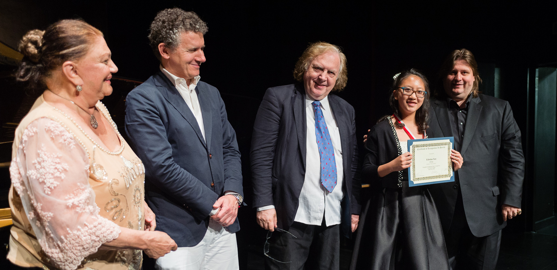 "Oxana Yablonskaya, Alexis Soriano, Einar Steen-Nøkleberg, Edwina Sun, USA - I nagroda, Kategoria ""Młode Talenty"""