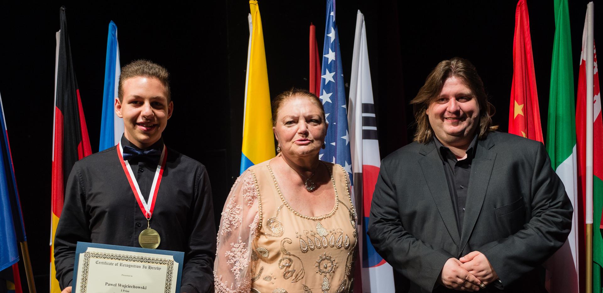 Paweł Wojciechowski, Polska Oxana Yablonskaya, Krystian Tkaczewski