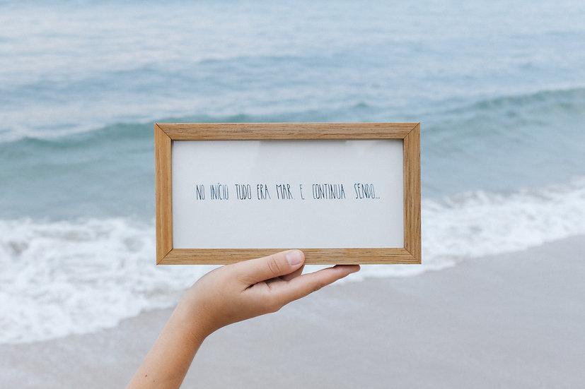 no início tudo era mar