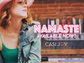 """Namaste"" Out Now!"