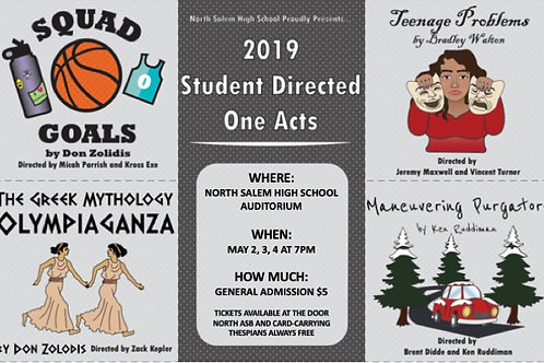 Student Directed One Acts 2019