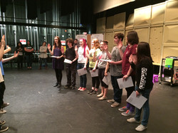 Thespian Induction