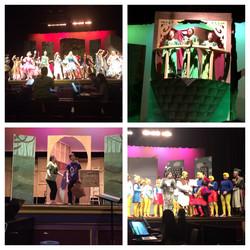 Rehearsal for Shrek the Musical!