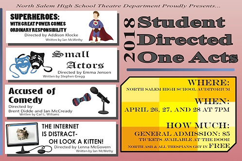 Spring Student Directed One Acts
