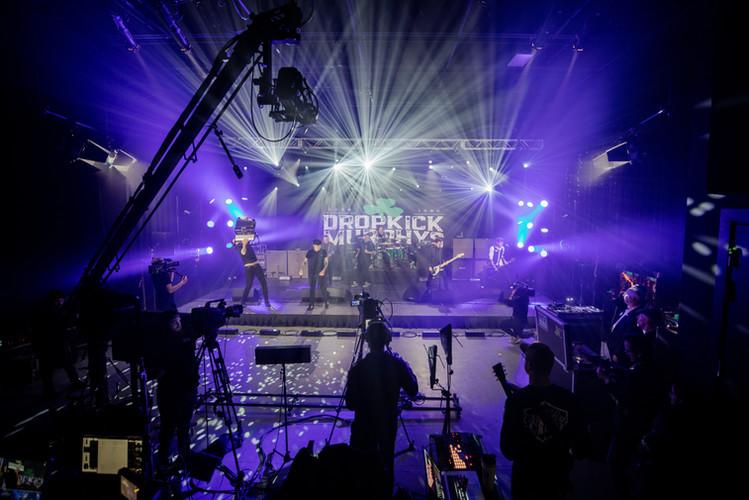 virtual production, stage, backline, rentals, camera, audio, lighting, studio, coworking, professional, dropkick murphys, concert