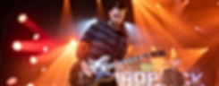 virtual production, live stream, concert, guitarist, dropkick murphys, lighting, creative, professional