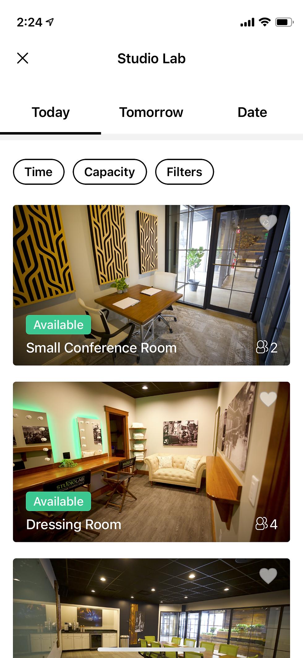 Studio Lab app