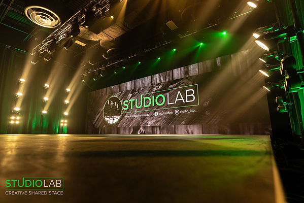 studio, stage, virtual production, LED wall, lighitng, professional, creative, coworking