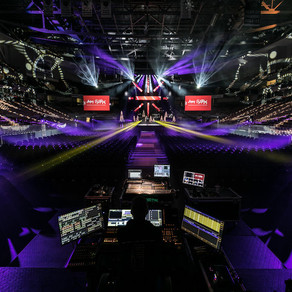 Events United Creates Christmas Glow with CHAUVET