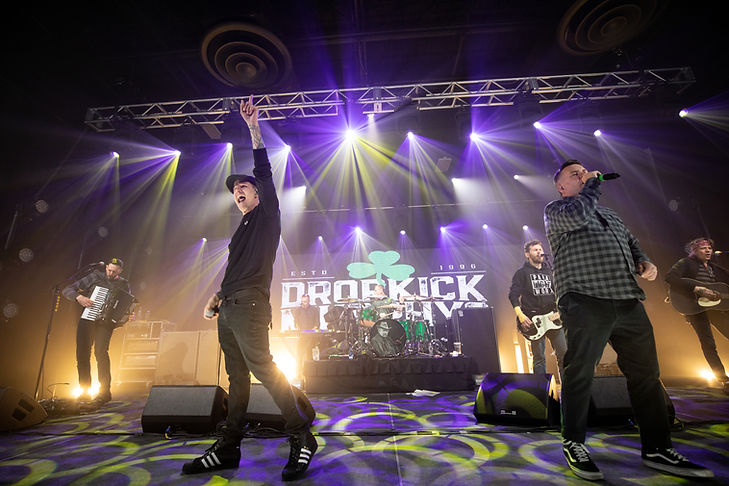 virtual production, live stream, online, cameras, rentals, studio, event, creative, professional, dropkick murphys, concert