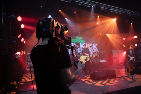 Dropkick Murphys, virtual production, camera, creative, studio, staging, lighting