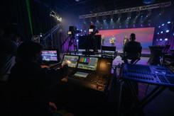 virtual production, stage, backline, rentals, camera, audio, lighting, studio, coworking, professional