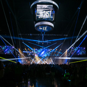 Events United Texturizes Stage at Steubenville Youth Conference with CHAUVET Professional Fixtures