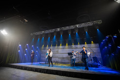 virtual production, stage, backline, rentals, camera, audio, lighting, studio, coworking, professional, church