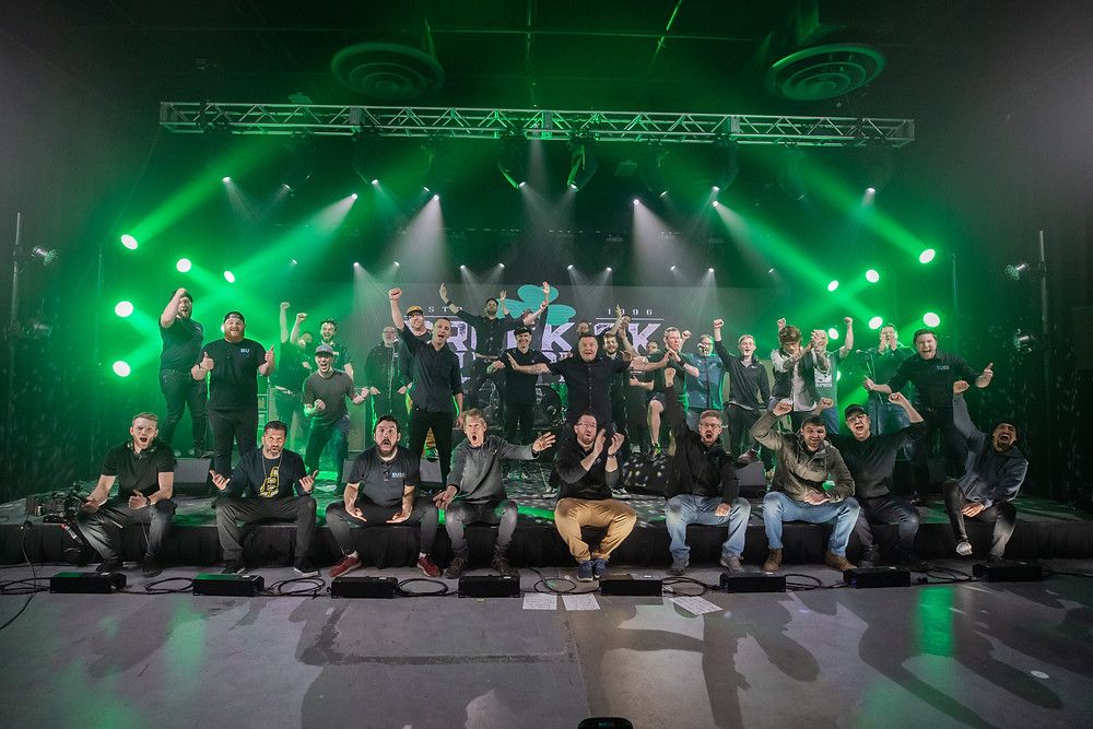 Events United team with Dropkick Murphys band on St. Patricks Day