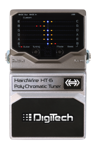 DigiTech HT-6 PolyChromatic Tuner
