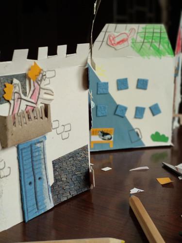 """Temas """"As Casas"""" - Sessão 1"""