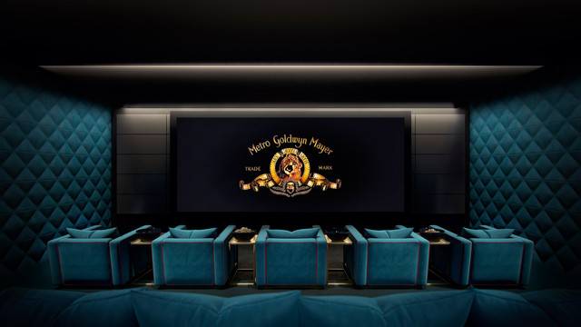Cinema : interior rendering
