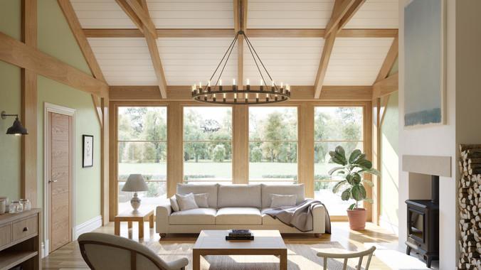 Country living : interior CGI