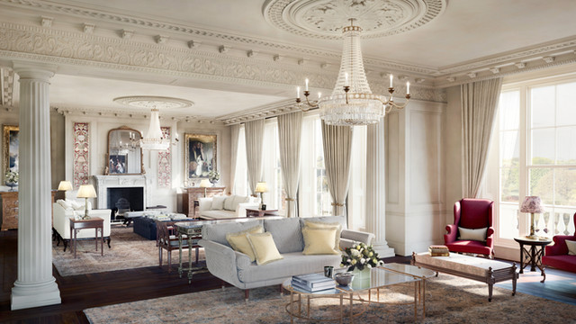 Cambridge Terrace interior CGI