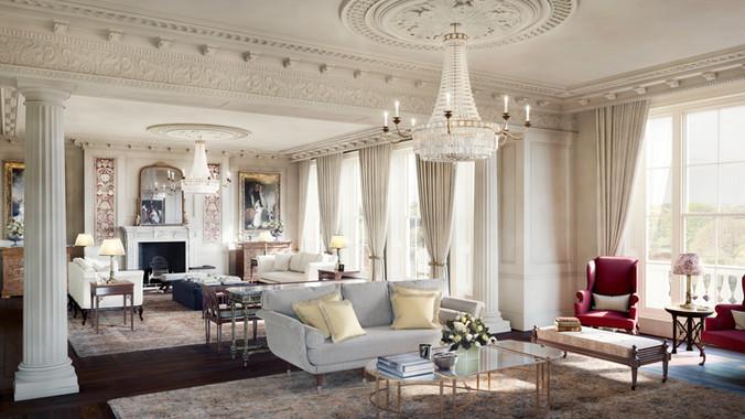 Cambridge Terrace interior CGI
