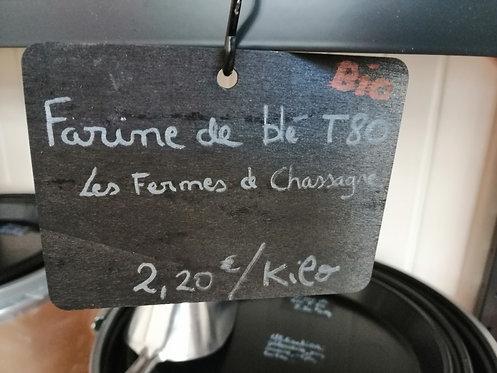 FARINE DE BLE T80 BIO