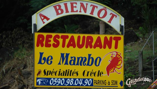 Le Mambo à la sortire de Pointe Noire direction Malendure, mopins de 10 minutes en voiture de chez k