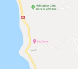 kazAnne vue de Google map