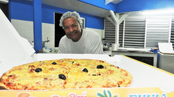 Pizzeria Roberto à Pointe Noire, 5 minutes en voiture de chez kazAnne (un peu avant le Plézi)