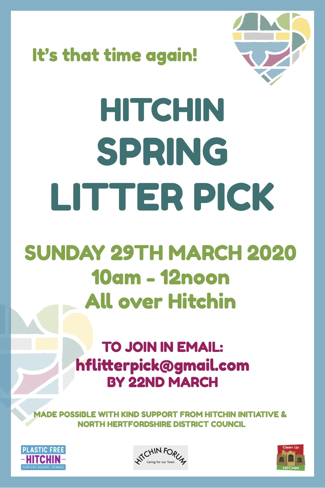 Hitchin Autumn Litter Pick 2019_FINAL